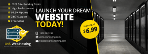 Launch Your Dream Website Today!